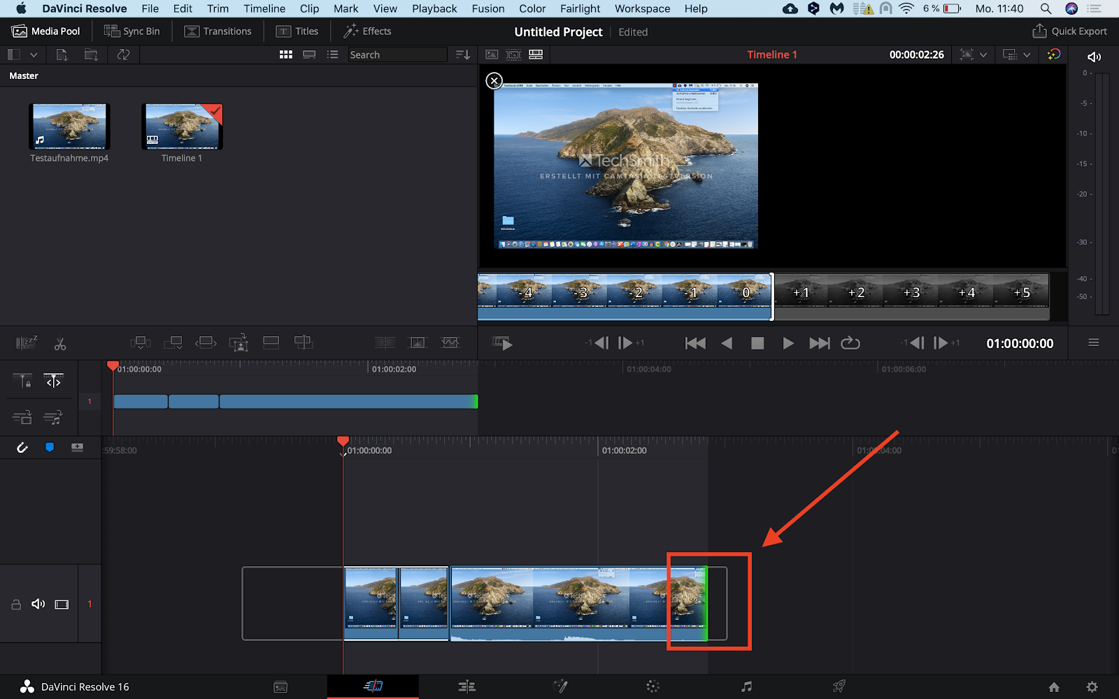 Kostenloses Videoschnittprogramm DaVinci Resolve