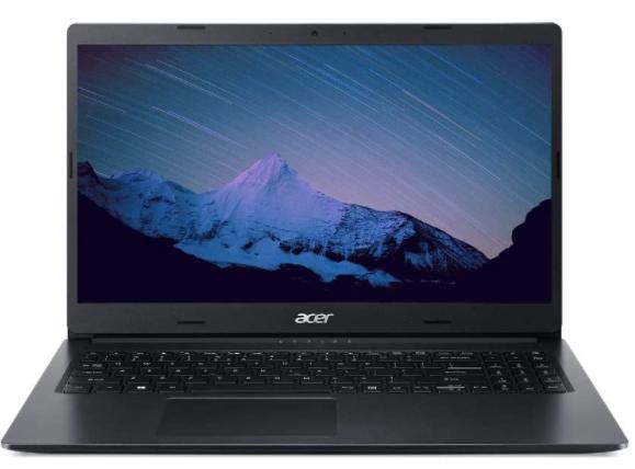 Imagem de notebook da marca Acer e modelo Aspire 3