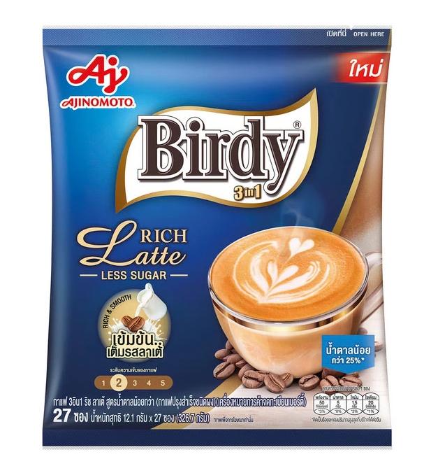 6. Birdy 3in1 Coffee Rich Latte
