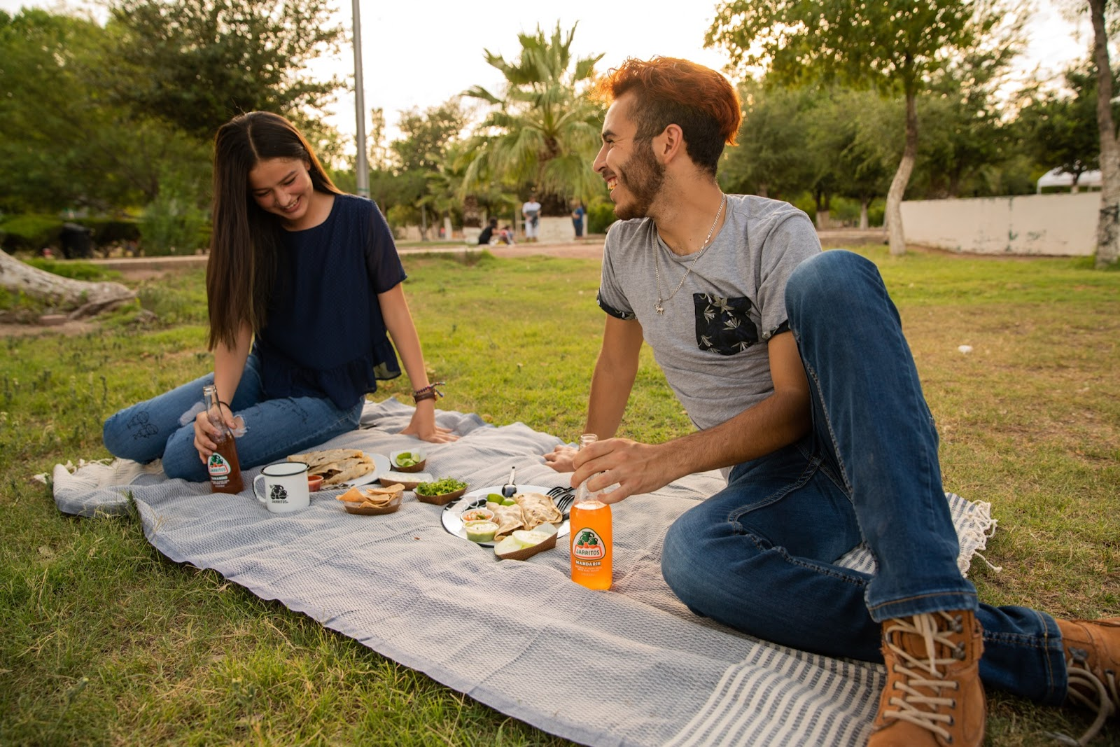 picnic newly-wed date idea
