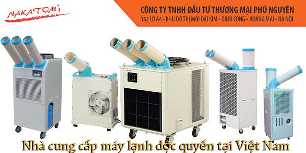 Phú Nguyên - Đơn vị phân phối độc quyền máy lạnh di động Nakatomi