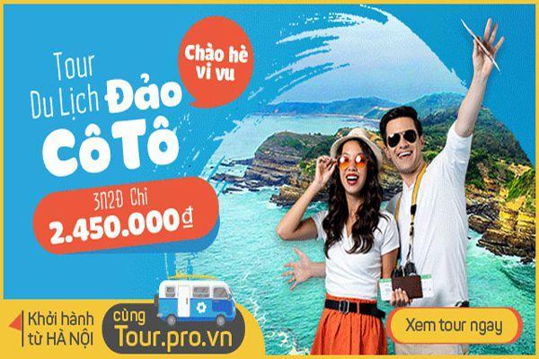 Du lịch cô tô 3 ngày 2 đêm tourprovn có gì thú vị?