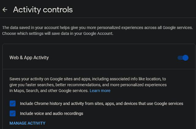 منع حفظ المحفوظات في جوجل كروم