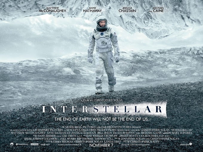 Movie Review: 'Interstellar' (2014) - 'In Search of a New Beginning for the Human Race'