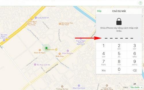 Tìm iPhone bị mất ngay cả khi máy tắt