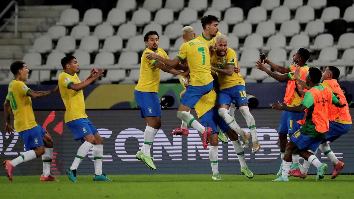 Brazil đang có phong độ rất cao