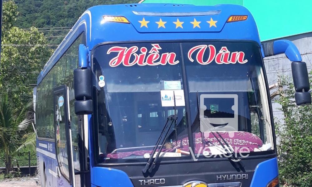 Xe Hiền Vân từ Hà Tiên đi Bến Tre