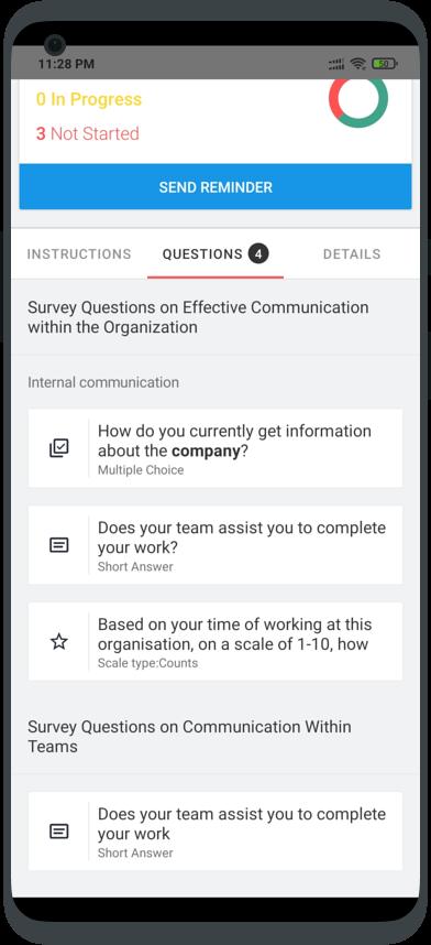 teamie mobile apps survey