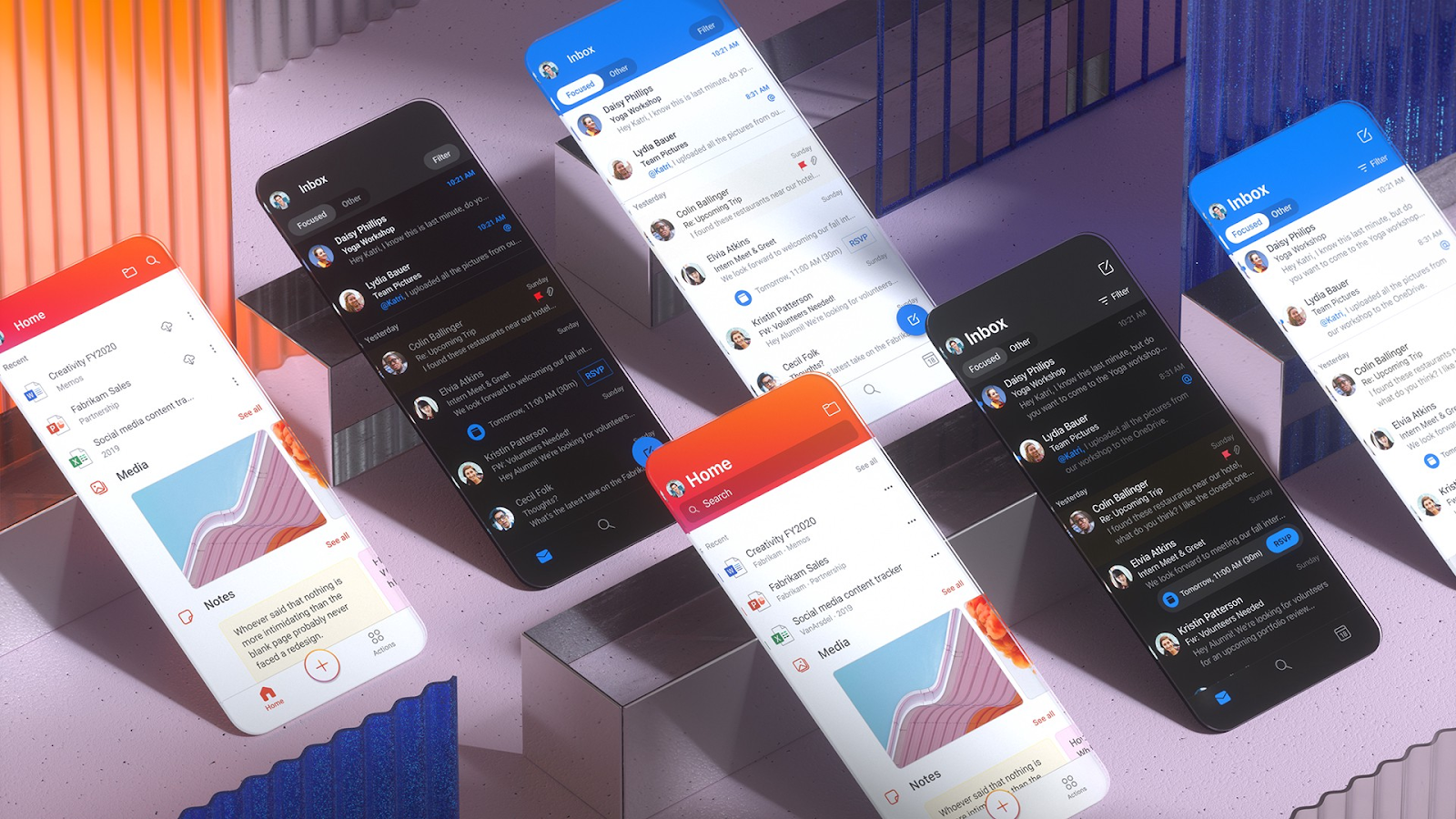 Microsoft Design opens Fluent UI, a collection of frameworks for next-gen experiences