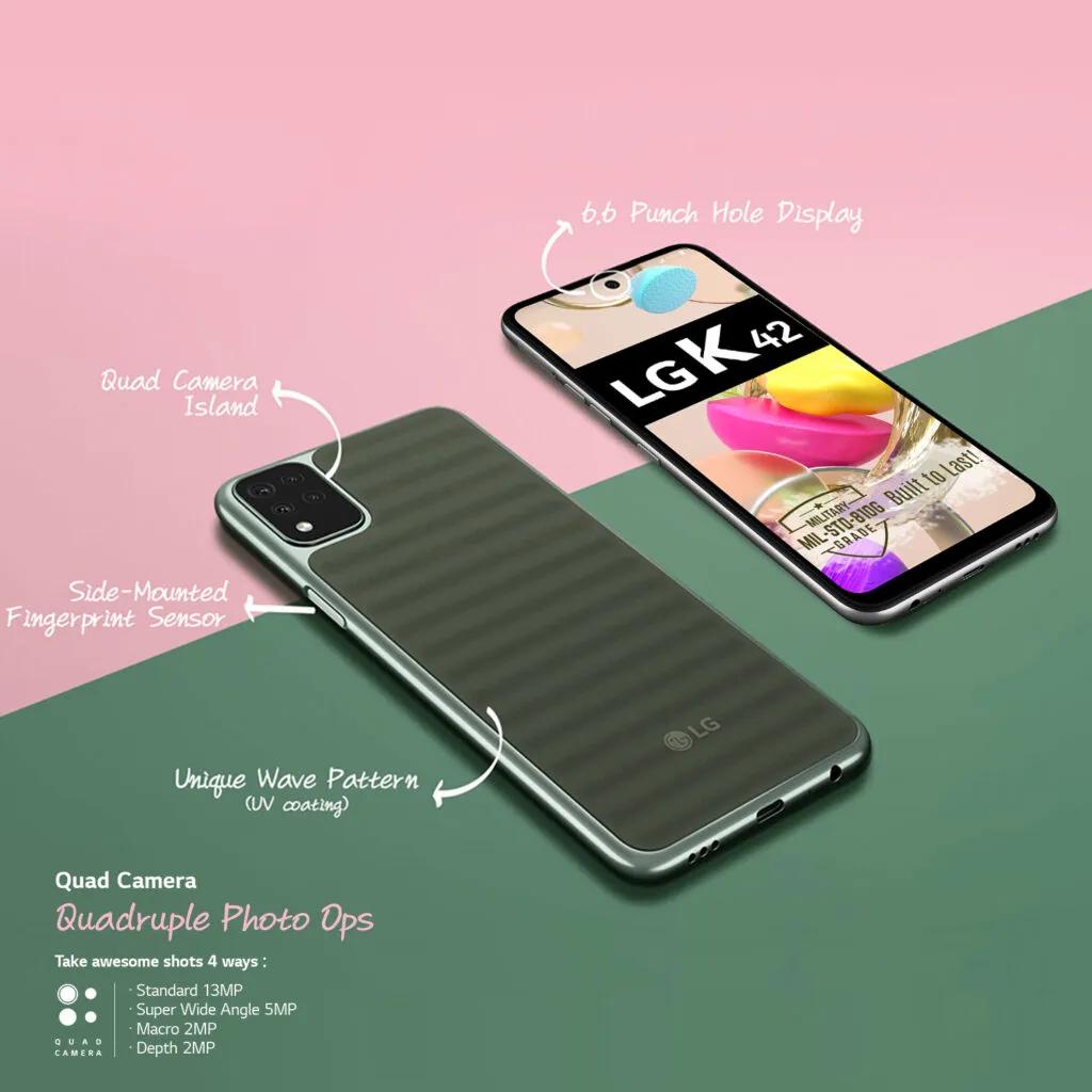 LG K42 smartphone