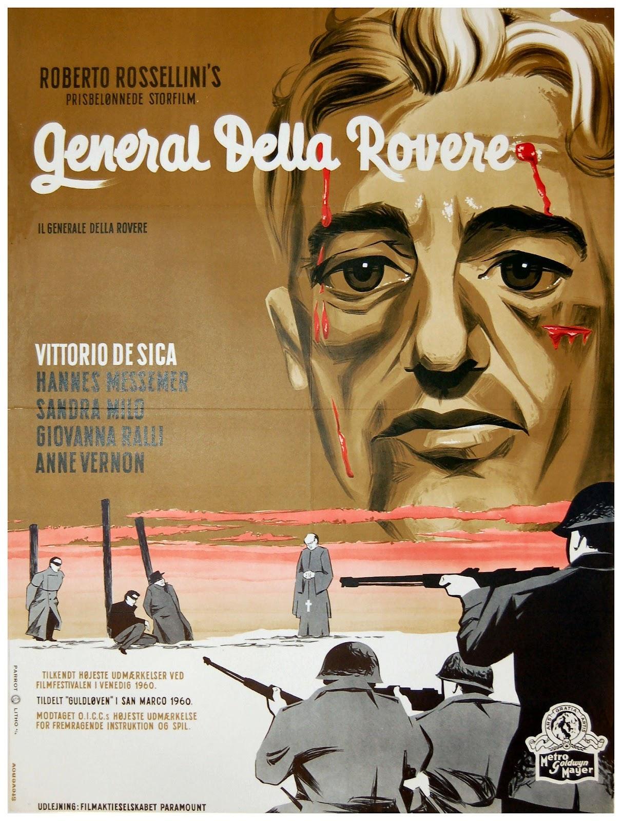 Image result for il generale della rovere 1959