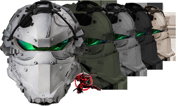 Sky Ronin Assault Helmet | Tactical helmet, Combat helmet, Airsoft ...