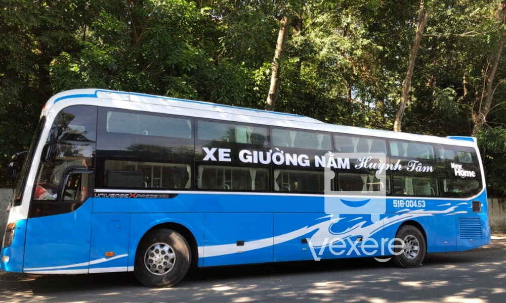 Xe Huỳnh Tâm từ Sài Gòn đi Kiên Giang