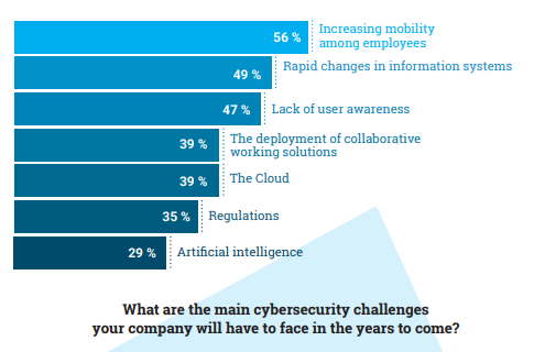The main cybersecurity challenges of companies in the year to come