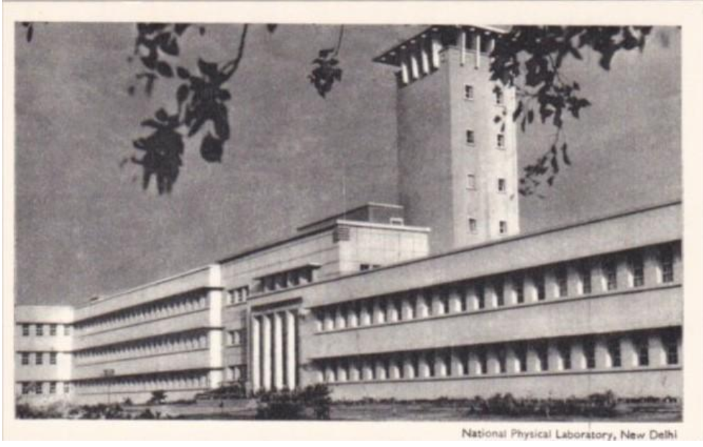 The National Physical Laboratory of India