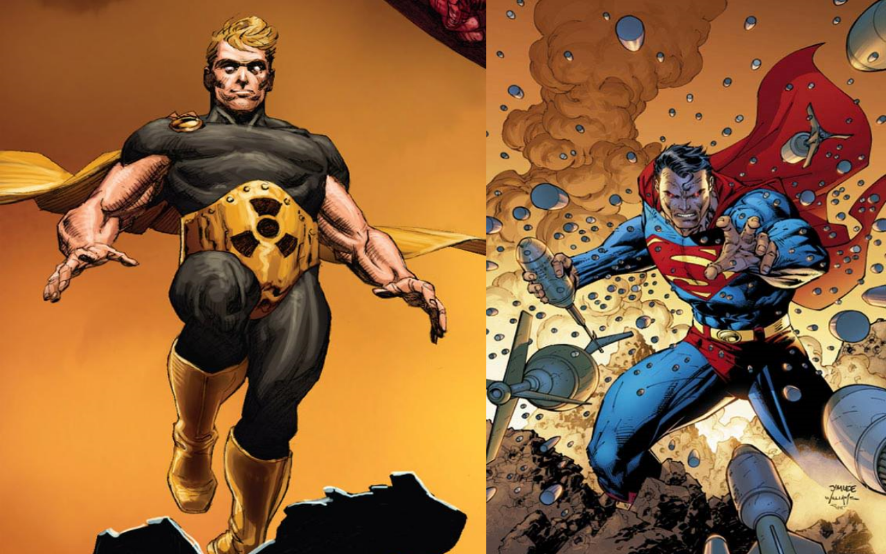 Superman and Hyperion - similar DC and Marvel Characters