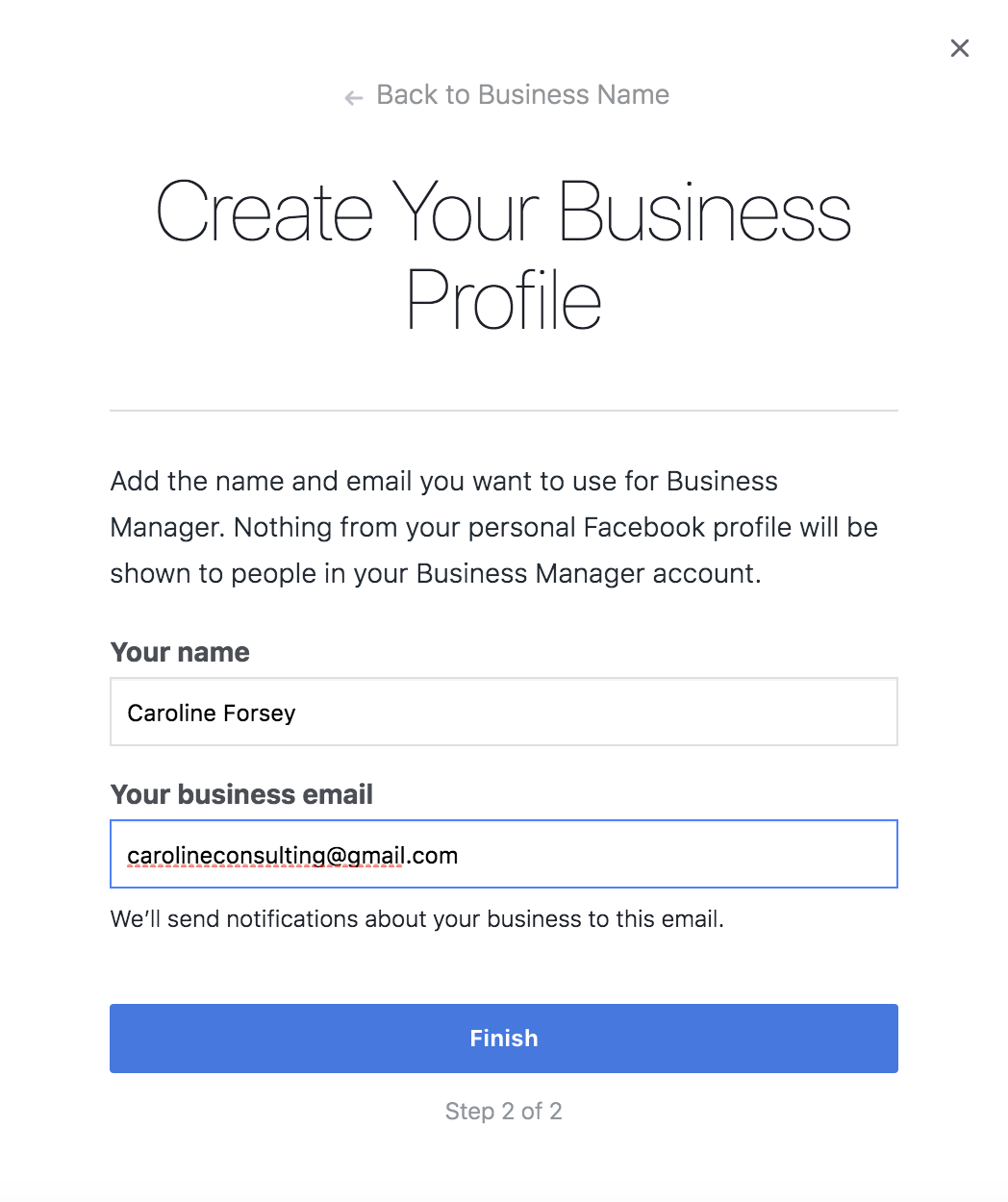 how to type a business email