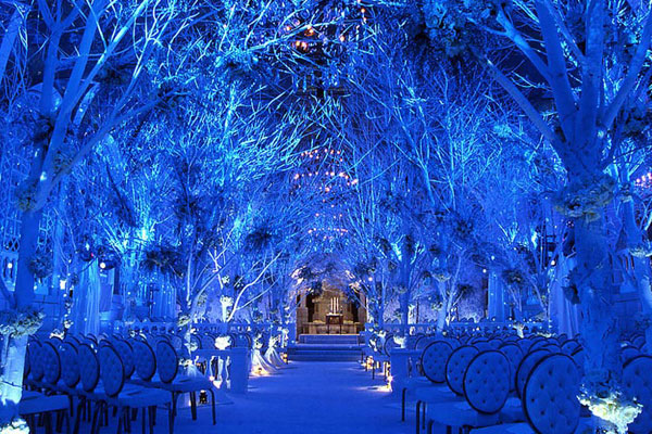 雪地 心幸福 婚禮小物