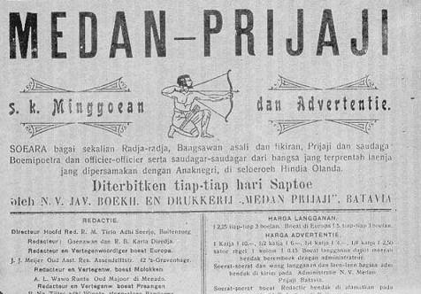 surat kabar pertama