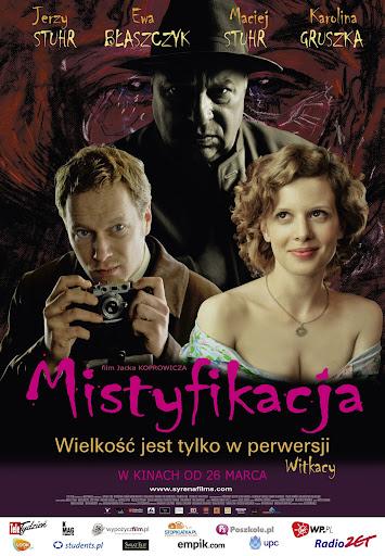 Polski plakat filmu 'Mistyfikacja'