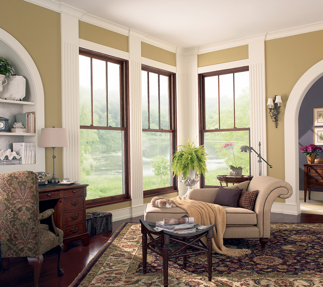 Example of Marvin Magnum Double Hung Windows from their catalogue.