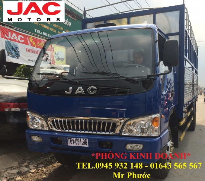 xe tai JAC 8 tan xe JAC 8T thung mui bat 2016 xe JAC 83 tan mua xe JAC 8 tan tang truoc ba 100