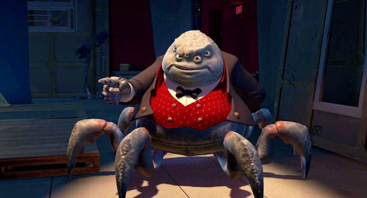 Mr. Waternoose – the head of Monster Inc