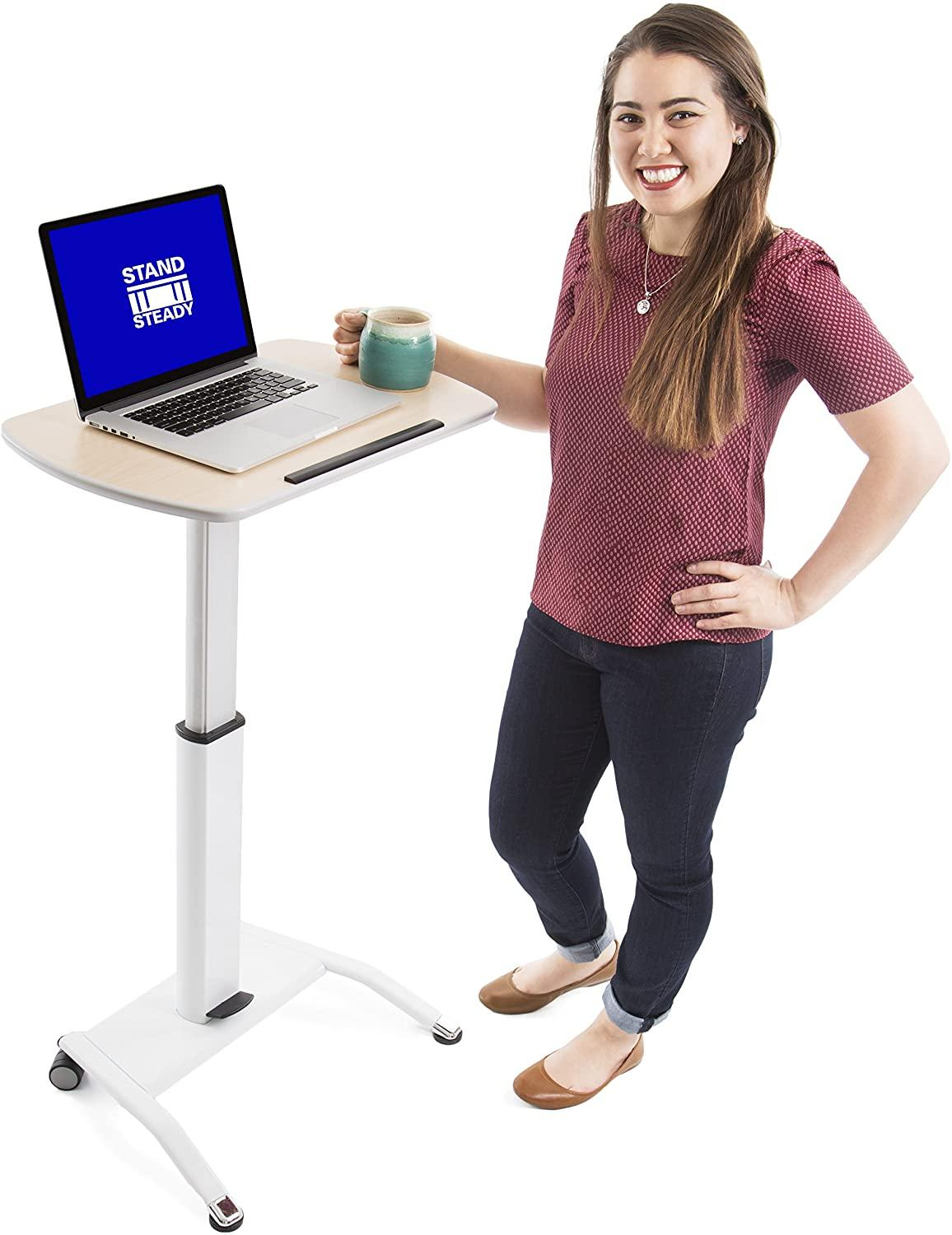 Stand Steady Multifunctional Podium | Lectern | Laptop Stand | Mobile  Workstation! Excellent use for classrooms, Offices, and Home!: Electronics  - Amazon.com