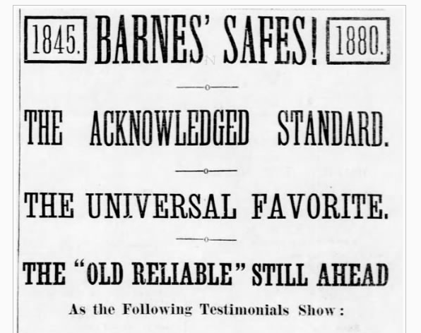 1800s social proof example - part 1.