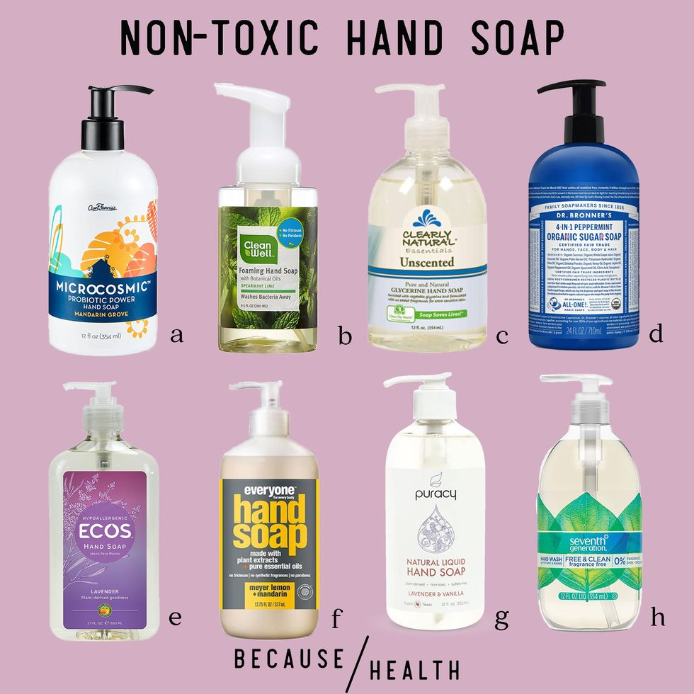 best hand soap for killing Covid19