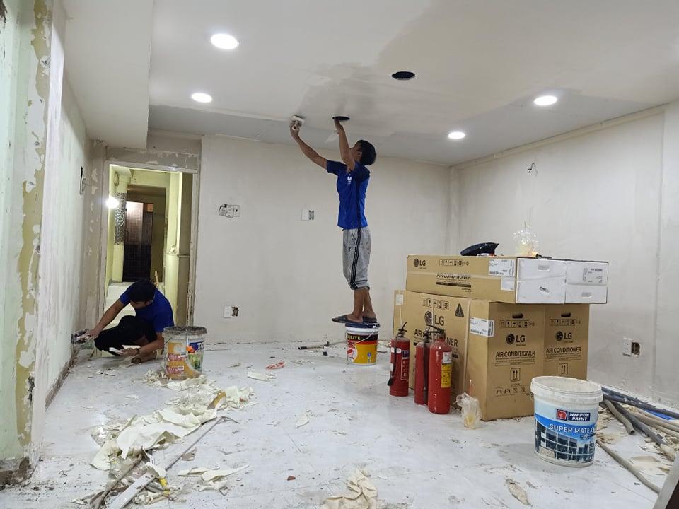 Quy trình thợ sửa chữa tại nhà