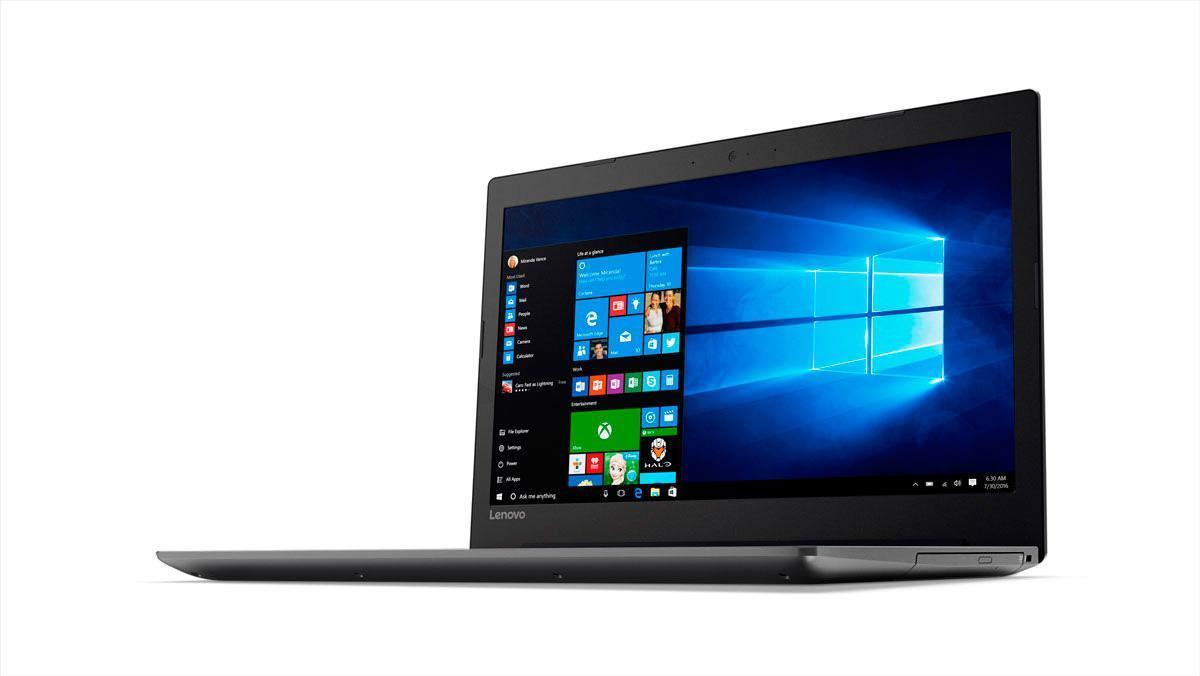 Фото3  Ноутбук Lenovo IdeaPad 320-15 Onyx Black (81BG00QHRA)