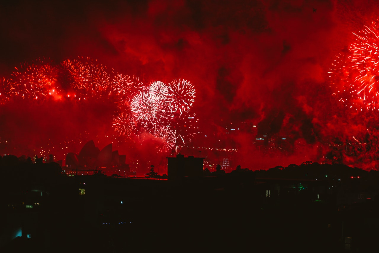 Fireworks, Chinese New Year festival