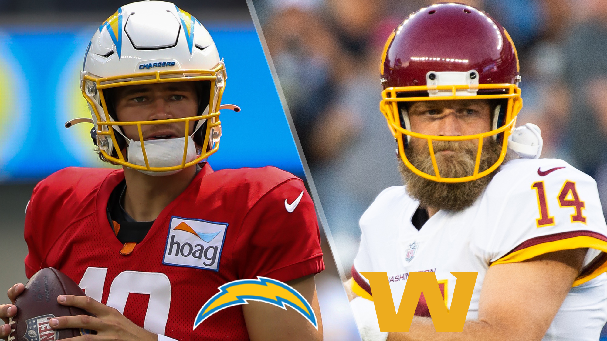 Chargers vs. Washington Live Stream Free: How to Watch NFL Week 1 Without Reddit