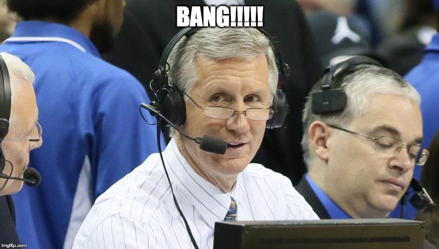 New York Knicks broadcaster talking about freelance writing jobs BANG!