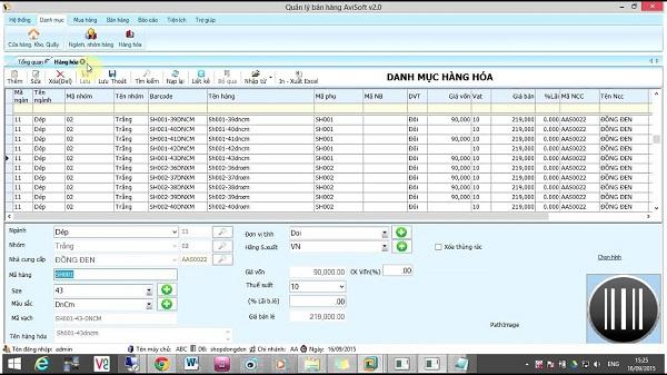 Phần mềm bán hàng online miễn phí AnVietsoft