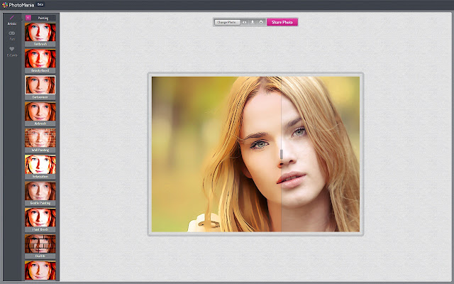 Coloring Effects Online : Photomania chrome 線上應用程式商店