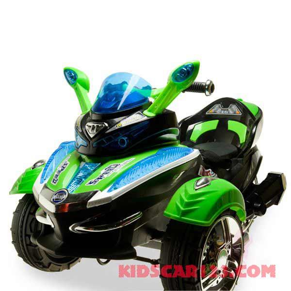 xe mô tô điện 4 bánh HC -1058 xanh lá