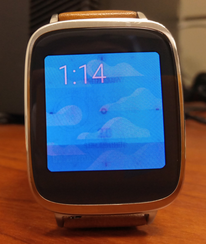 Asus Zen Watch - AMOLED imprint issue | AMOLED imprint issue… | Flickr