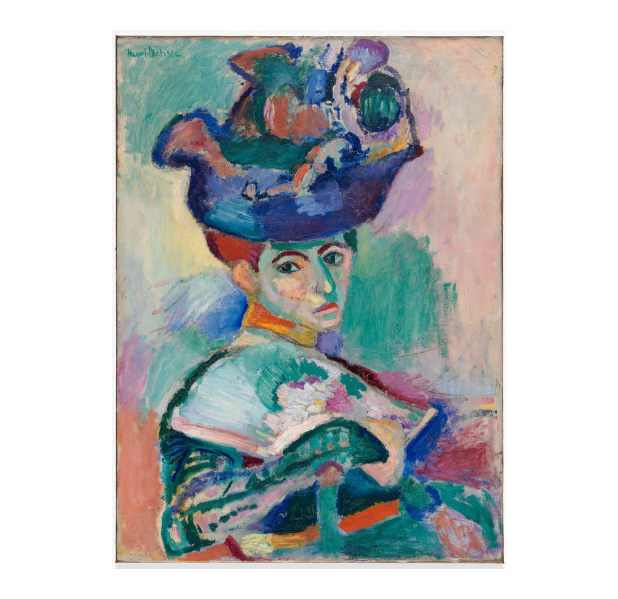 Henri Matisse (1869-1954) - Femme au chapeau (Woman with a Hat),1905