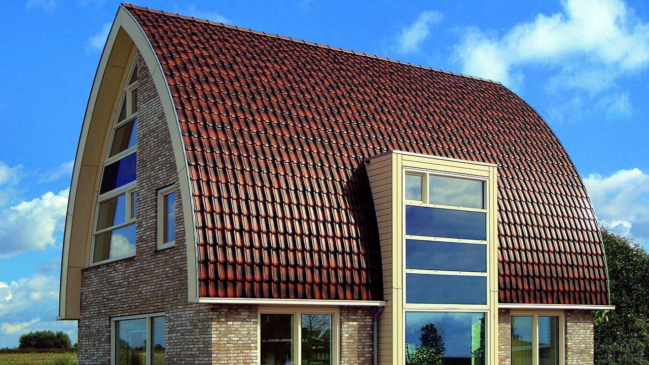 какие бывают крыши частных домов