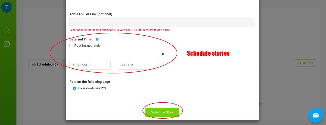 AiSchedul schedule stories