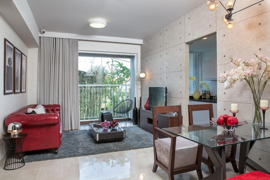 Thiết kế căn hộ tại dự án Eco Green Sài Gòn rất tinh tế, sang trọng