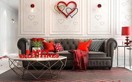 欢度情人节运用创意DIY 将浪漫带进家中  西洋情人节  居家装饰  大纪元