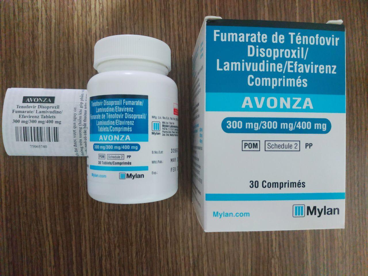 AVONZA dự phòng phơi nhiễm và điều trị HIV mới nhất - nhathuoccuaban
