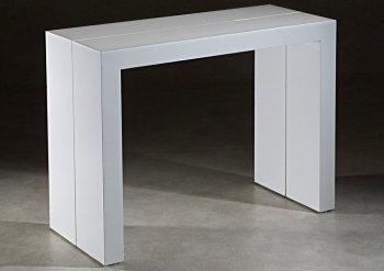 Decorar cuartos con manualidades consola mesa extensible ikea for Mesa comedor extensible ikea