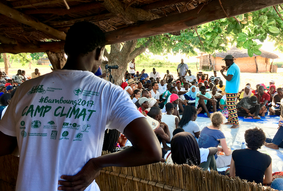 Formations au Camp Climat Sénégal 2019