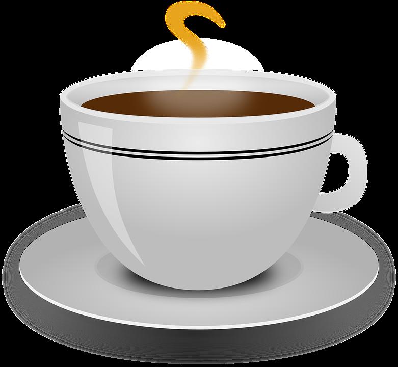 Coffee, Cup, Beverage, Black, ...