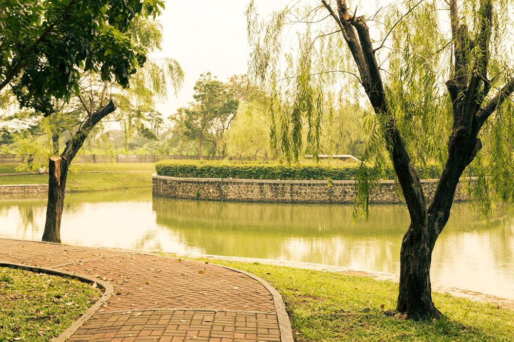 cattleya park jogging tracks jakarta