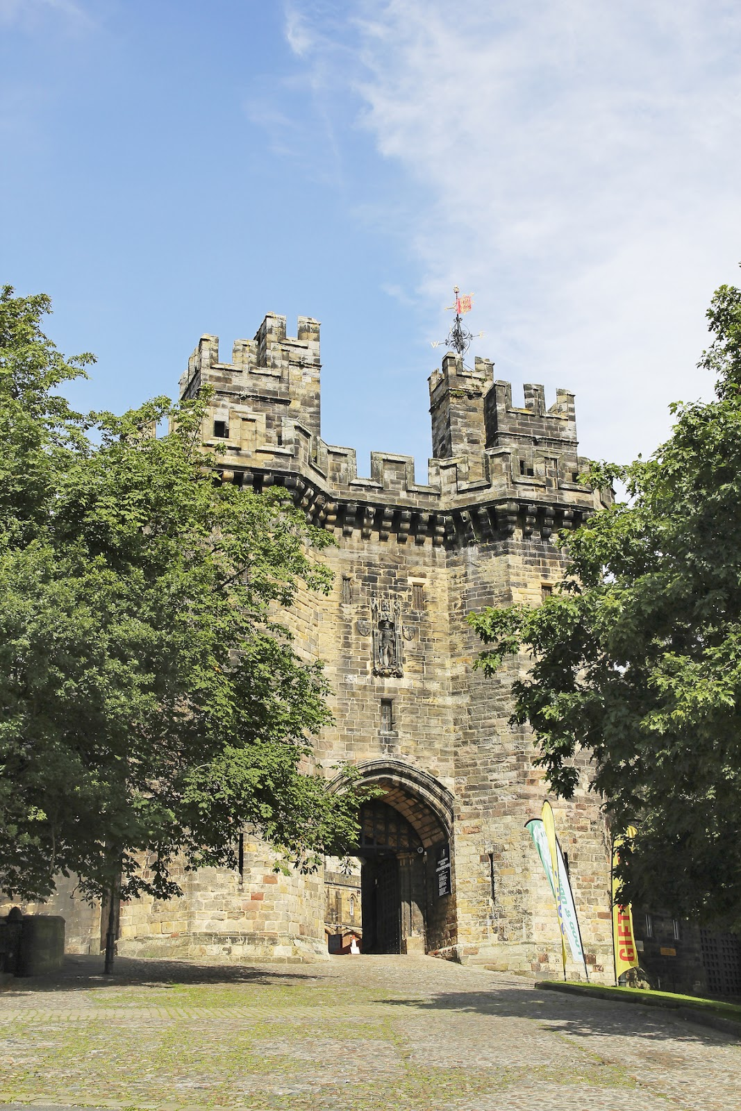 Lancaster Castle in Lancashire. Source: Business Insider Malaysia